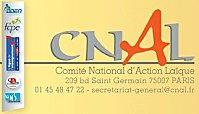 CNAL Comité National d'Action Laïque